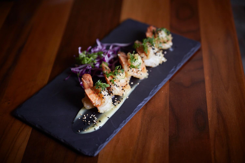 Crevettes ebi-mayo disponible à partir de 15h