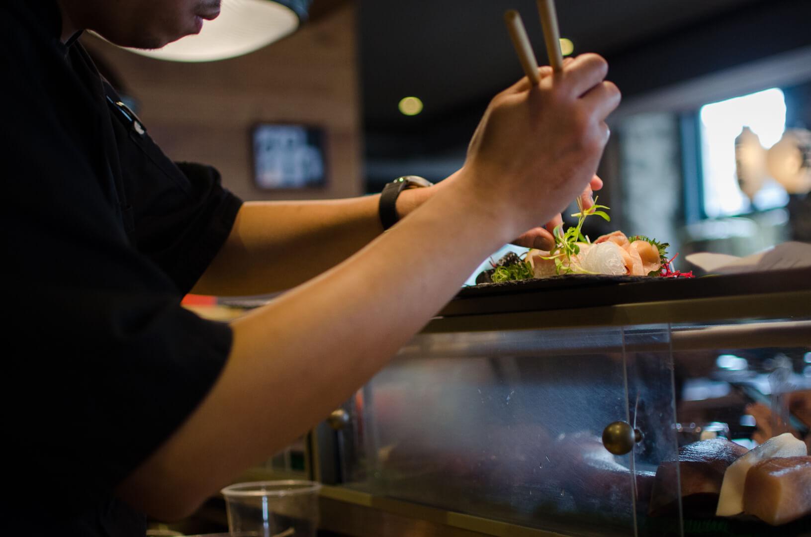 chef sashimi