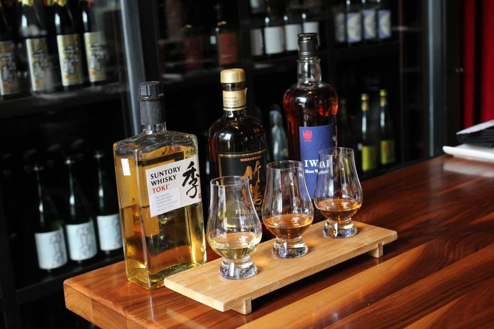 Debustation de whisky
