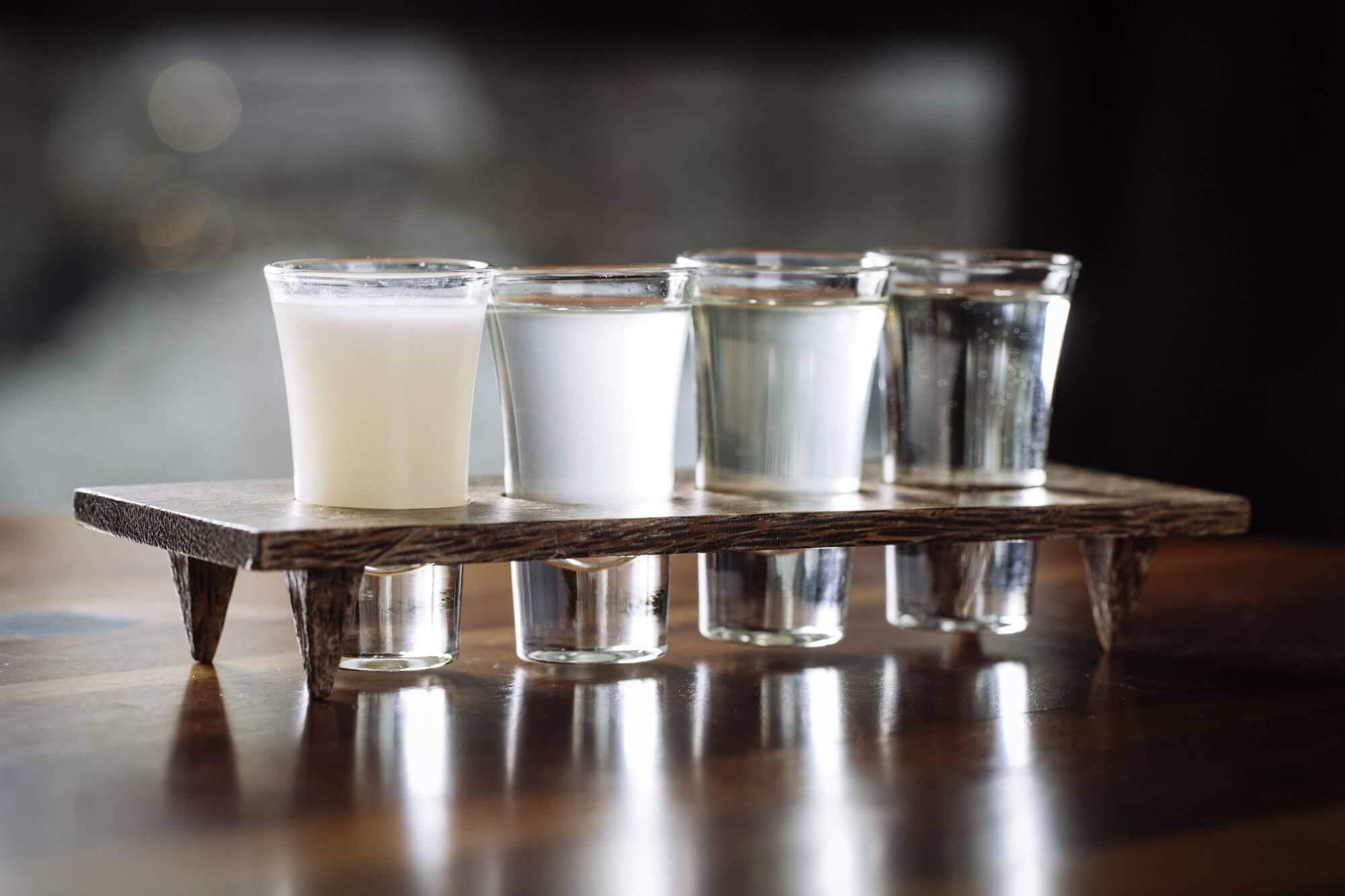 Degustation de sake